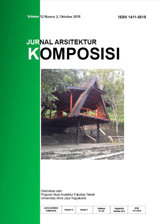 Jurnal Arsitektur Komposisi Vol 12 No. 2 Oktober 2018