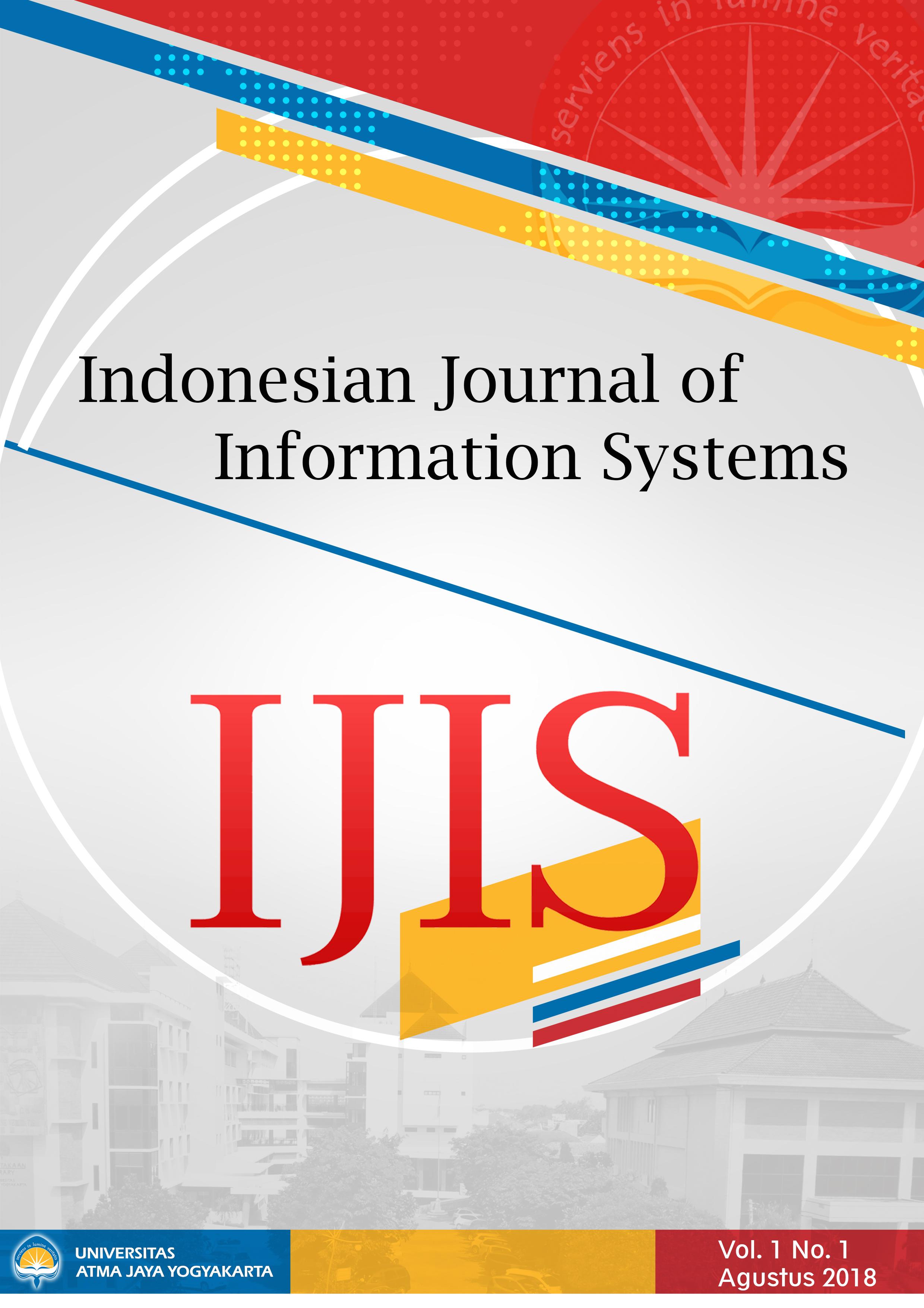 IJIS Vol. 1, No. 1, Agustus 2018