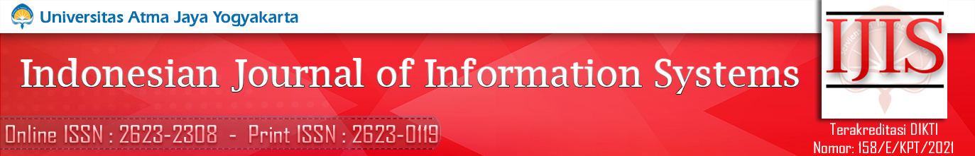 Indonesian Journal of Information Systems (IJIS)